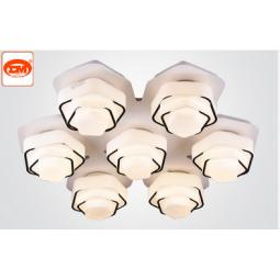 艺联智能空间照明客厅灯具效果图