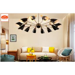 艺联智能空间照明创意别墅大厅