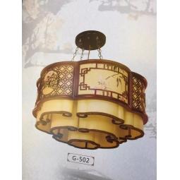 中式筒状吊灯