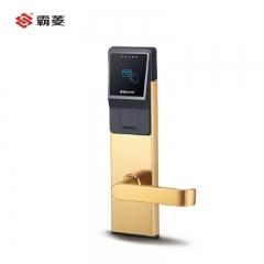 霸菱智能锁酒店锁刷卡钥匙锁RF-230 pvd金色