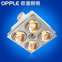 大发灯饰   欧普照明四灯浴霸嵌入式集成吊顶三合一卫生间多功能换气灯暖