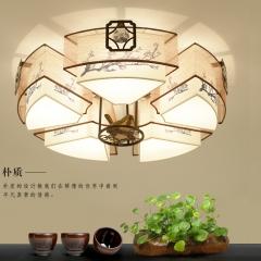 伟诚灯饰中式新感觉客厅豪华吸顶灯 81806-5大