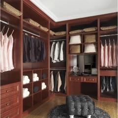 丹尼斯全屋定制实木衣柜卧室家具组合衣柜衣帽间移门DNS-2 图片色 材质很多(具体咨询客服) 尺寸与