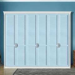 丹尼斯全屋定制实木衣柜卧室家具组合衣柜衣帽间移门DNS-5 图片色 材质很多(具体咨询客服) 尺寸与