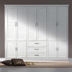丹尼斯全屋定制实木衣柜卧室家具组合衣柜衣帽间移门DNS-8 图片色 材质很多(具体咨询客服) 尺寸与