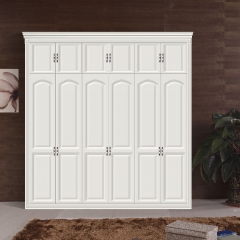 丹尼斯全屋定制实木衣柜卧室家具组合衣柜衣帽间移门DNS-11 图片色 材质很多(具体咨询客服) 尺寸