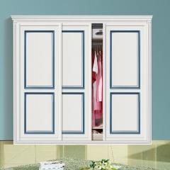 丹尼斯全屋定制实木衣柜卧室家具组合衣柜衣帽间移门DNS-12 图片色 材质(具体咨询客服) 尺寸与大