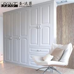 圣·达菲衣柜移门定制吸塑平开门系列LD-9001 法罗莎家居 图片色 可定制(吸塑、板材、软硬包)