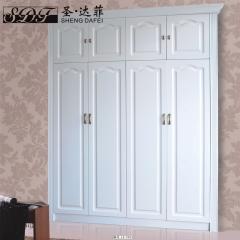 圣·达菲衣柜移门定制吸塑平开门系列LD-9003 法罗莎家居 图片色 可定制(吸塑、板材、软硬包)