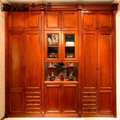 圣·达菲衣柜移门定制吸塑平开门系列LD-9004 法罗莎家居 图片色 可定制(吸塑、板材、软硬包)
