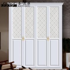 圣·达菲衣柜移门定制吸塑平开门系列LD-9006 法罗莎家居 图片色 可定制(吸塑、板材、软硬包)
