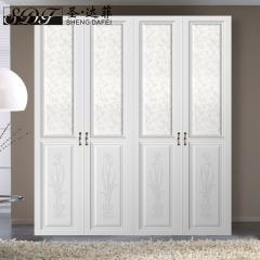 圣·达菲衣柜移门定制吸塑平开门系列LD-9007 法罗莎家居 图片色 可定制(吸塑、板材、软硬包)