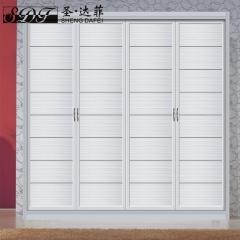圣·达菲衣柜移门定制吸塑平开门系列LD-9012 法罗莎家居 图片色 可定制(吸塑、板材、软硬包)