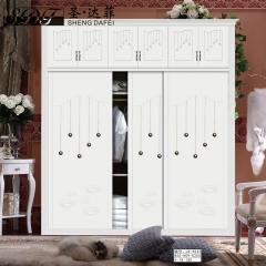 圣·达菲衣柜移门定制镶嵌浮雕系列LD-9032 法罗莎家居 图片色 可定制(吸塑、板材、软硬包) 多