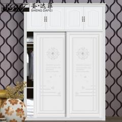 圣·达菲衣柜移门定制镶嵌浮雕系列LD-9033 法罗莎家居 图片色 可定制(吸塑、板材、软硬包) 多