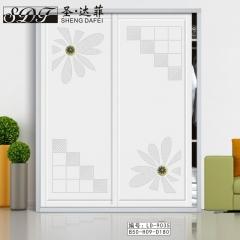圣·达菲衣柜移门定制镶嵌浮雕系列LD-9035 法罗莎家居 图片色 可定制(吸塑、板材、软硬包) 多