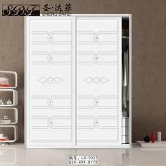 圣·达菲衣柜移门定制镶嵌浮雕系列LD-9037 法罗莎家居 图片色 可定制(吸塑、板材、软硬包) 多
