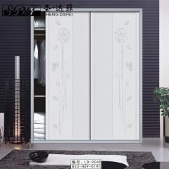 圣·达菲衣柜移门定制镶嵌浮雕系列LD-9040 法罗莎家居 图片色 可定制(吸塑、板材、软硬包) 多