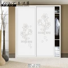 圣·达菲衣柜移门定制镶嵌浮雕系列LD-9044 法罗莎家居 图片色 可定制(吸塑、板材、软硬包) 多