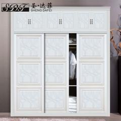 圣·达菲衣柜移门定制镶嵌浮雕系列LD-9047 法罗莎家居 图片色 可定制(吸塑、板材、软硬包) 多