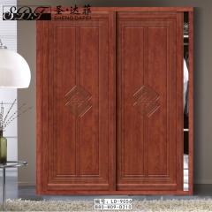 圣·达菲衣柜移门定制镶嵌浮雕系列LD-9056 法罗莎家居 图片色 可定制(吸塑、板材、软硬包) 多