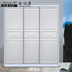 圣·达菲衣柜移门定制镶嵌浮雕系列LD-9059 法罗莎家居 图片色 可定制(吸塑、板材、软硬包) 多