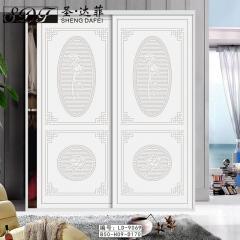 圣·达菲衣柜移门定制镶嵌浮雕系列LD-9069 法罗莎家居 图片色 可定制(吸塑、板材、软硬包) 多
