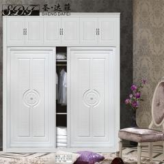 圣·达菲衣柜移门定制镶嵌浮雕系列LD-9023 法罗莎家居 图片色 可定制(吸塑、板材、软硬包) 多