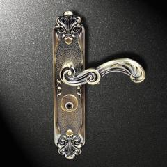 顶固  实木室内门锁卧室锁执手房门卧室门锁木门 天城五金 棕古铜