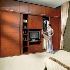 美迪乐居整体家居定制衣柜7 图片色 实木 尺寸 定金