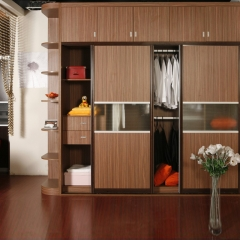 美迪乐居整体家居定制衣柜3 图片色 实木 尺寸 定金