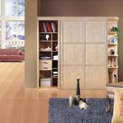 美迪乐居整体家居定制衣柜4 图片色 实木 尺寸 定金
