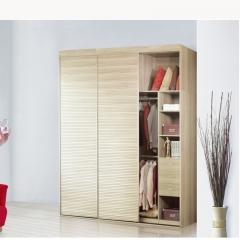 美迪乐居整体家居定制衣柜5 图片色 实木 尺寸 定金