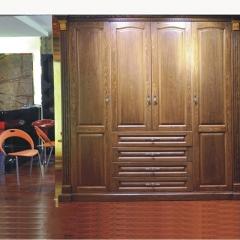 美迪乐居整体家居定制衣柜6 图片色 实木 尺寸 定金