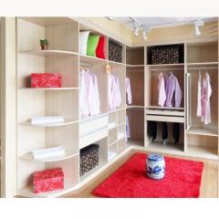 美迪乐居整体家居定制衣柜10 图片色 实木 尺寸 定金