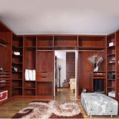 美迪乐居整体家居定制衣柜11 图片色 实木 尺寸 定金