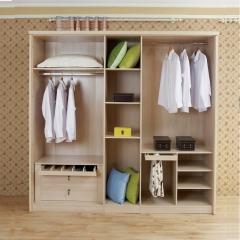 美迪乐居整体家居定制衣柜9 图片色 实木 尺寸 定金