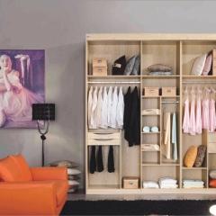 美迪乐居整体家居定制衣柜 图片色 实木 尺寸 定金
