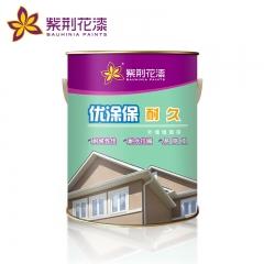 紫荆花漆优涂保耐久外墙墙面漆 白色乳胶漆油漆涂料外墙墙面漆 5L
