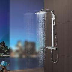 HEGII恒洁  智能恒温花洒 卫生间全铜龙头淋浴花洒套装 质量保障 完美售后