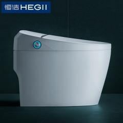 恒洁卫浴800A一体式智能坐便器 即热无水箱全自动智能马桶 295MM智能双Q