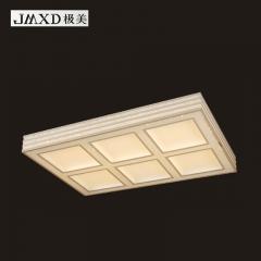 极美现代灯LED客厅餐厅灯新款无极调光艺术灯饰极美K0098 小方 480*480