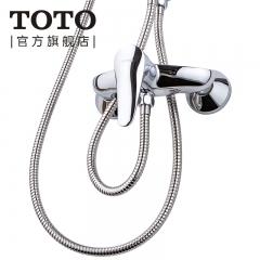 TOTO卫浴浴室浴缸龙头淋浴冷热混合铜质水龙头单柄DM313R DL372R(不含软管)