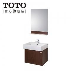 TOTO卫浴 浴室柜组合现代简约卫浴柜欧式复合洗脸盆柜LBQW601B LBQW601B