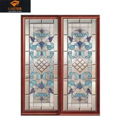 七彩石玻璃定做移门艺术玻璃1 利华艺术玻璃 可定制