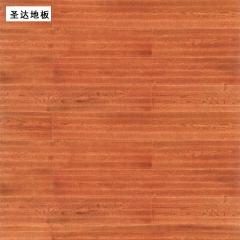 圣达地板栎木实木地板桃花春曲地板 910*125/18