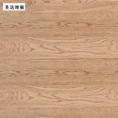 圣达地板栎木实木地板仿古象牙果地板 910*125/18