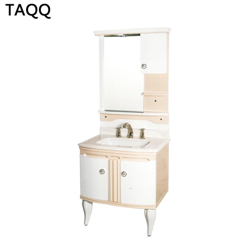 TAQQ卫浴浴室柜陶瓷面盆洗手洗脸盆储物组合