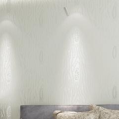 沃莱菲简约现代无纺布壁纸环保墙纸 XDJ40702 卷(0.53*10 )