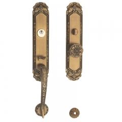 莱特国际 豪华大门锁系列 M-12 YBM 锌合金
